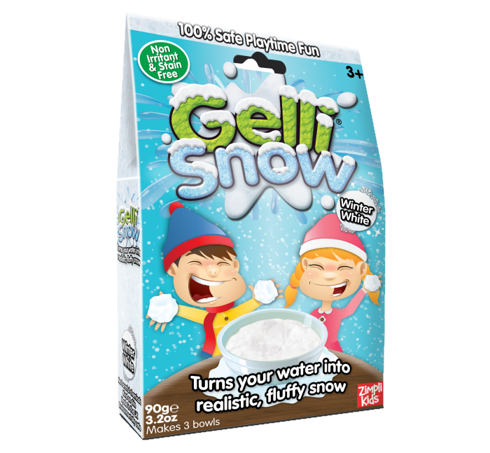 Gelli Snow Снег Белый - Gelli Snow(снег) - порошок, превращающий воду в снег.
