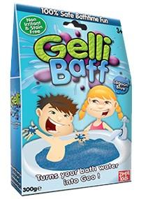 Gelli baff Джелли Бафф Голубая лагуна - Gelli Baff - порошок, превращающий воду в желе.