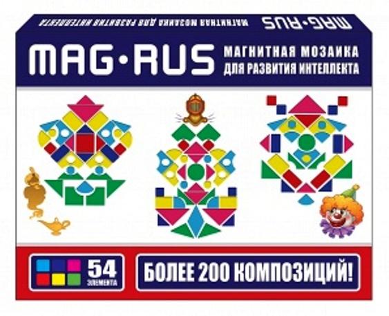 MAG-RUS. Магнитная мозаика арт.103А .
