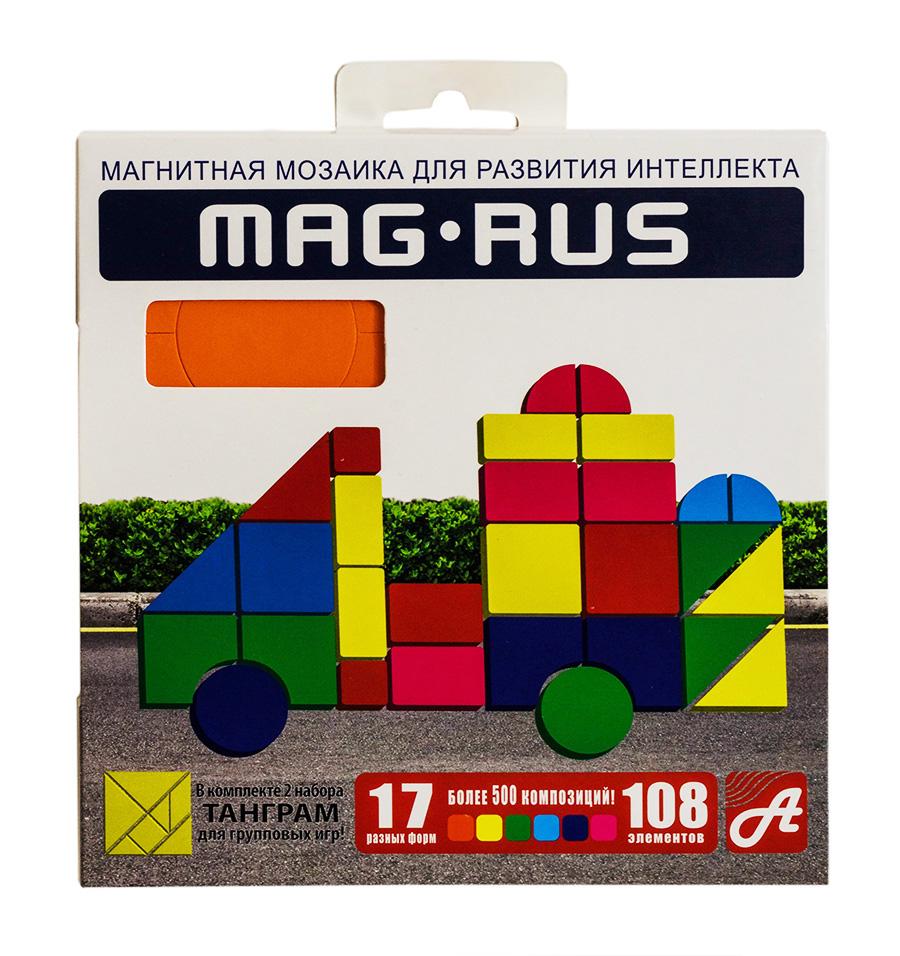 MAG-RUS. Магнитная мозаика арт. 95А 108 эл.