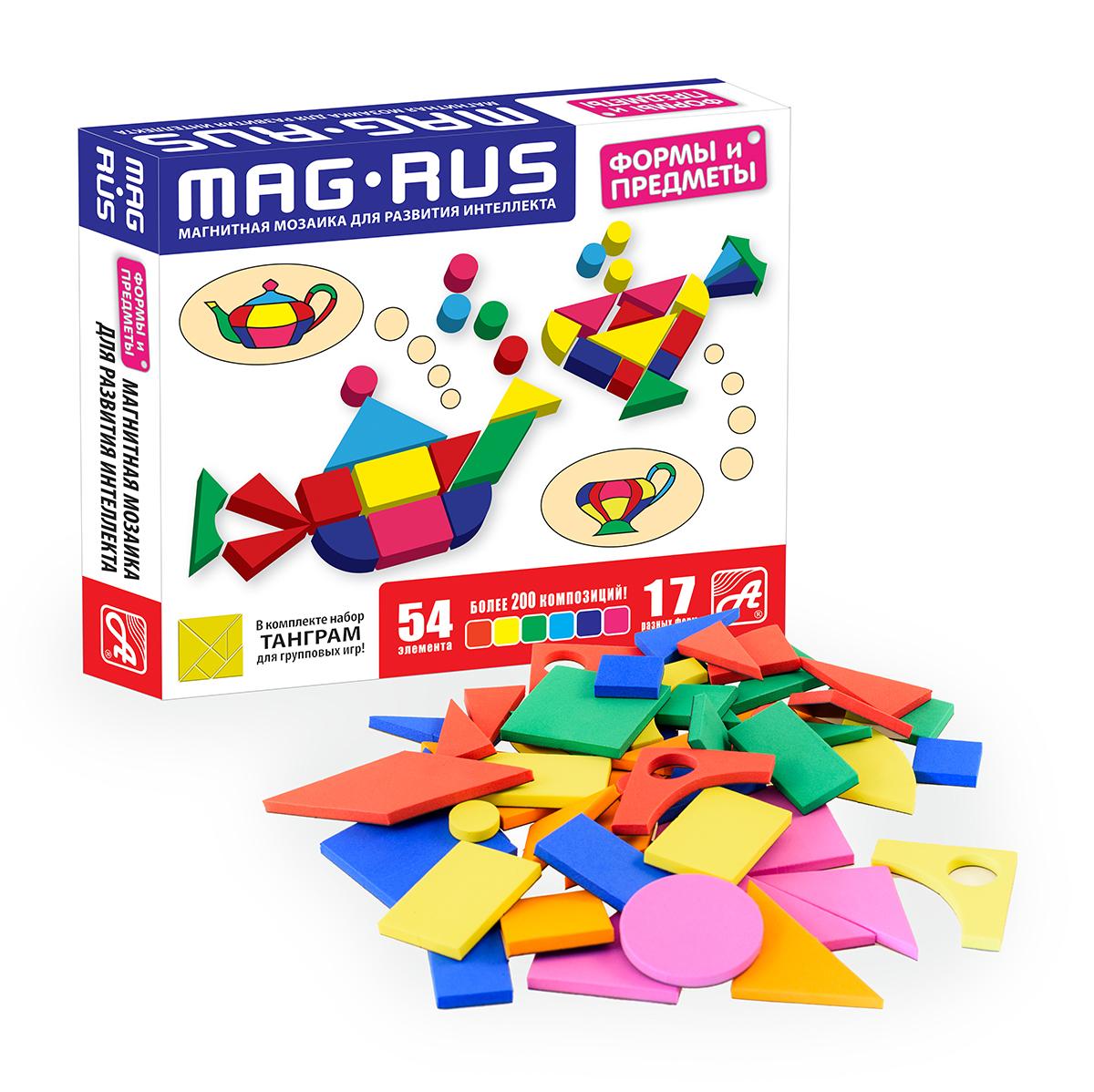 MAG-RUS. Магнитная мозаика арт.NF1033