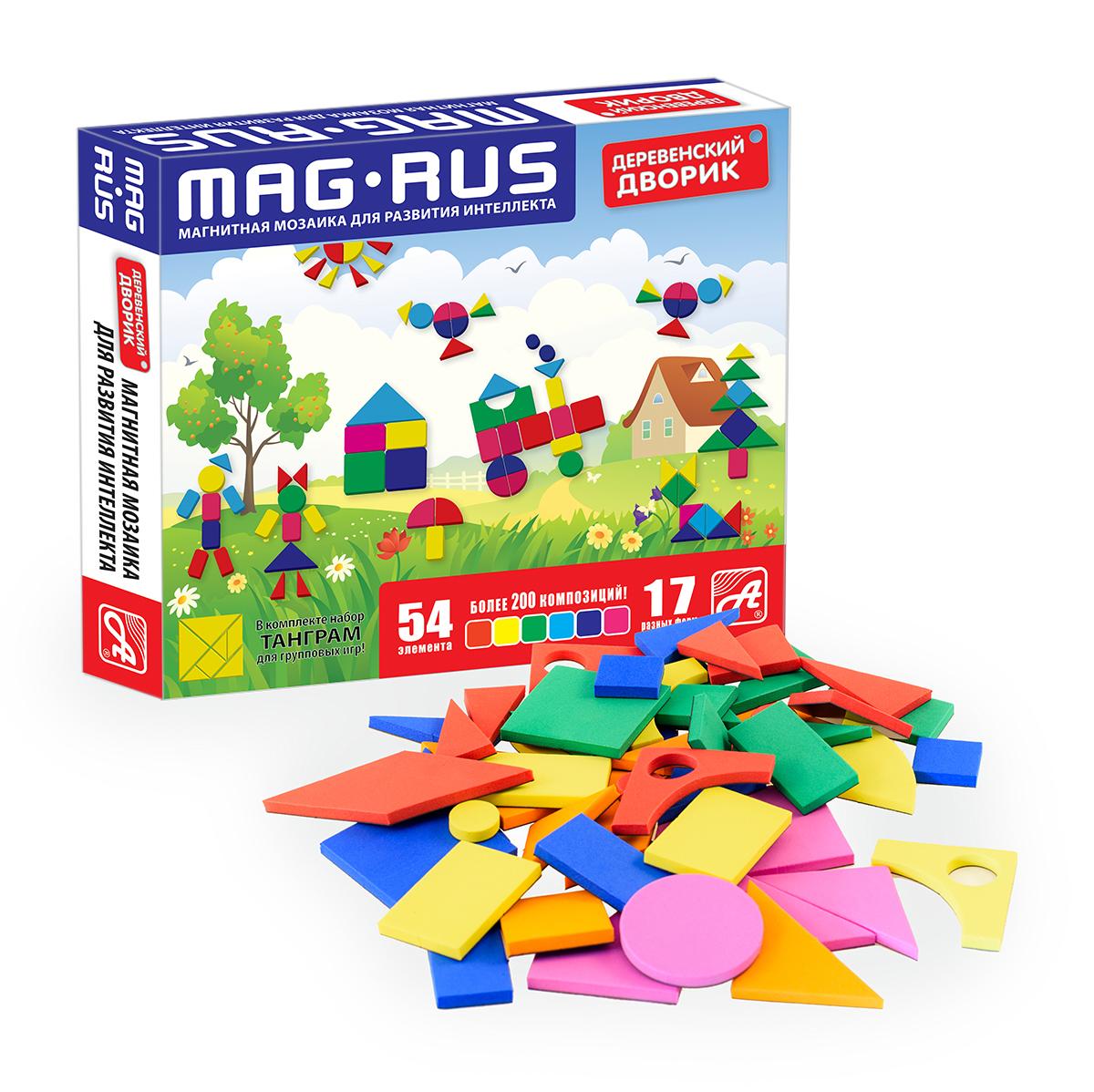 MAG-RUS. Магнитная мозаика арт.NF1030