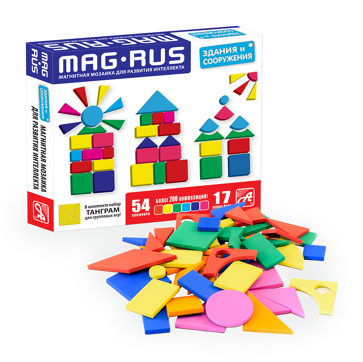 MAG-RUS. Магнитная мозаика арт.NF1029