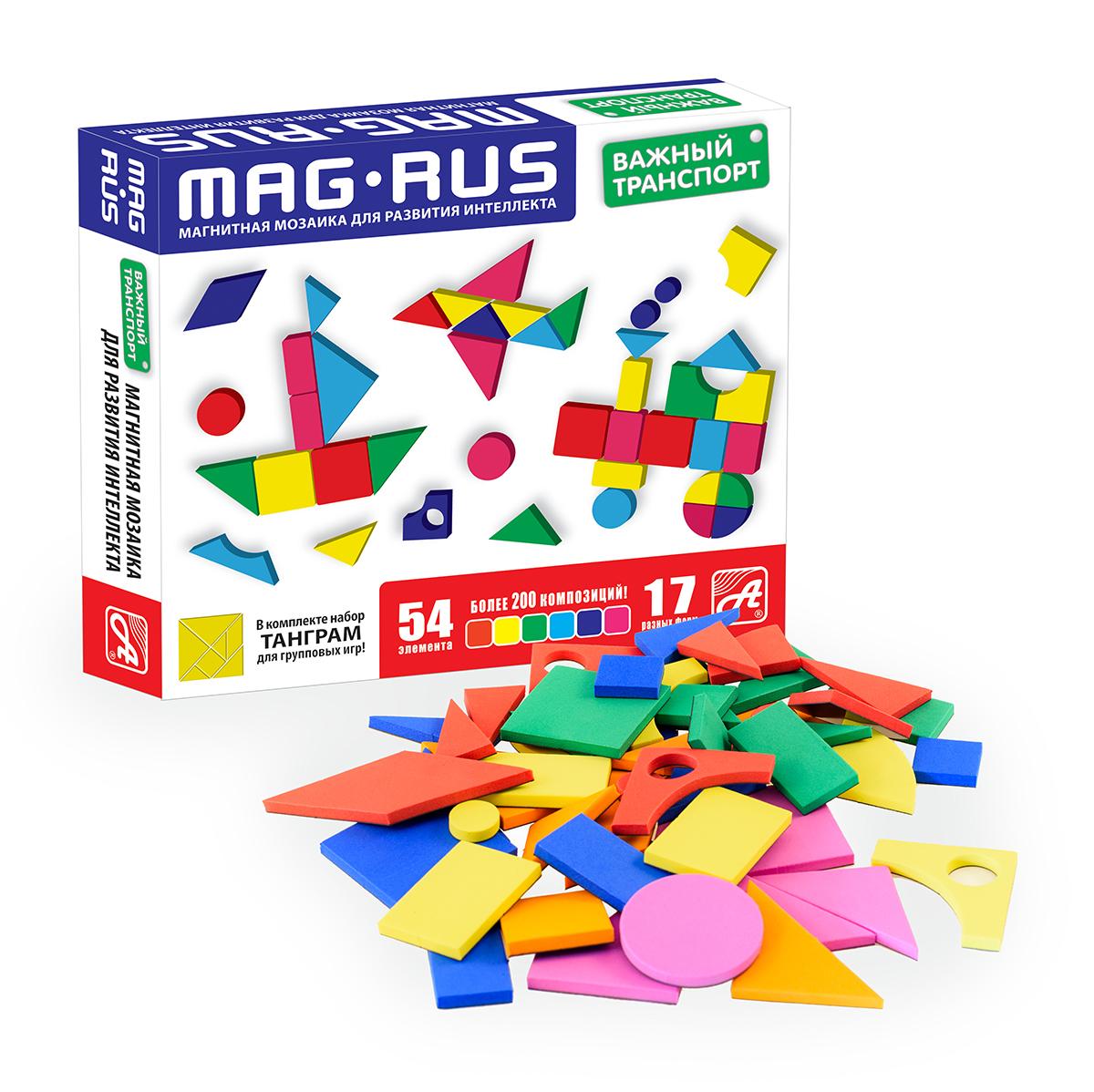 MAG-RUS. Магнитная мозаика арт.NF1028