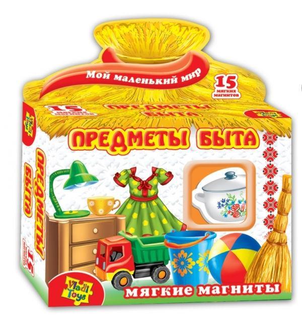 VladiToys. Набор мягких магнитов арт.VT3101-09/1504-06