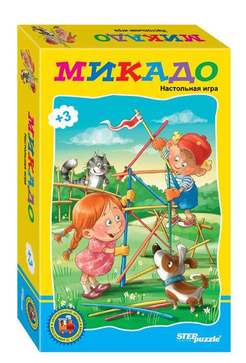 Степ. Микадо (76119) - Игра способствует развитию внимания, памяти, реакции. Всегда удобно взять с собой и играть не только дома.