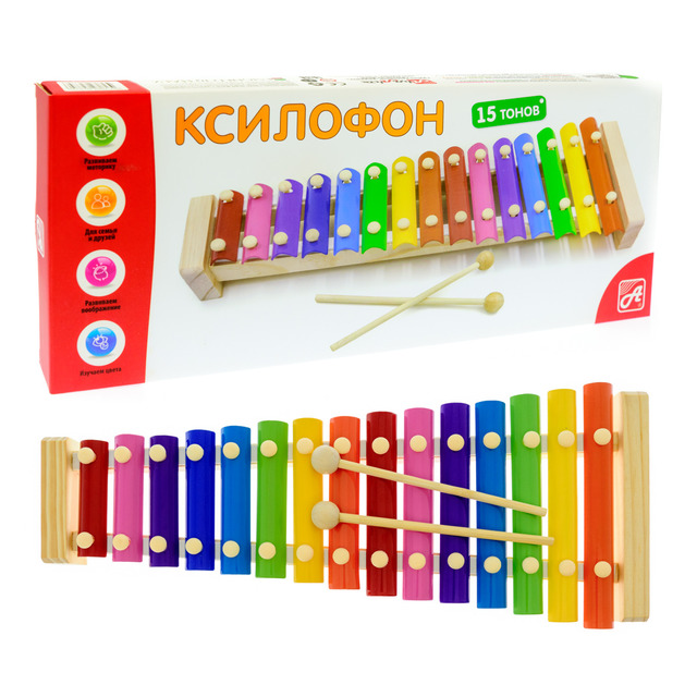 РДИ Д1015а Ксилофон 15 тонов (металлофон) -