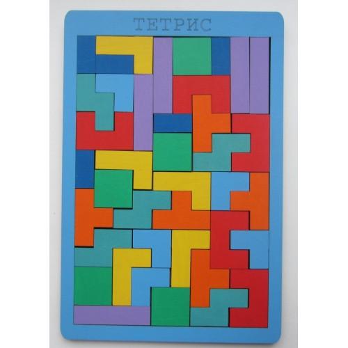 Тетрис 40 деталей, МИКС - Размер 23 см × 0,8 см × 34,5 см  Игра развивает пространственное воображение, логику, мелкую моторику руки. Для детей от 3 до 5 лет.