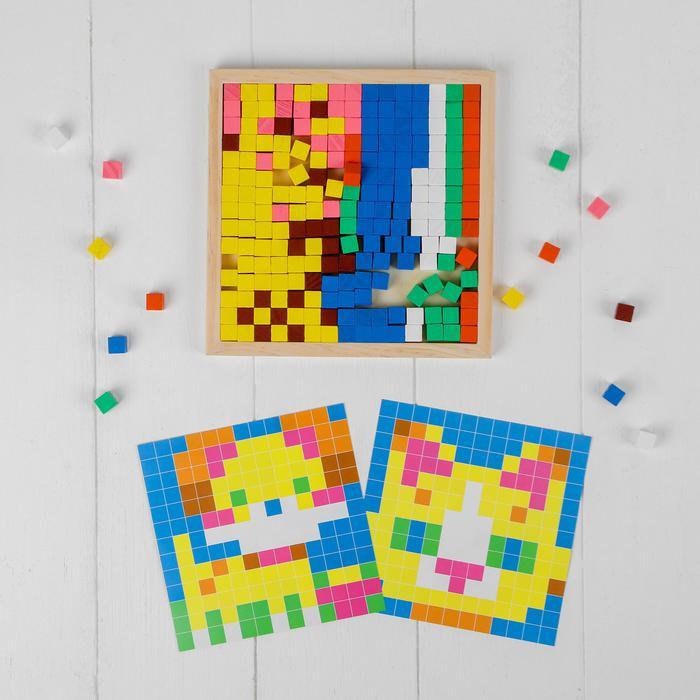 Мозаика. Цветные кубики
