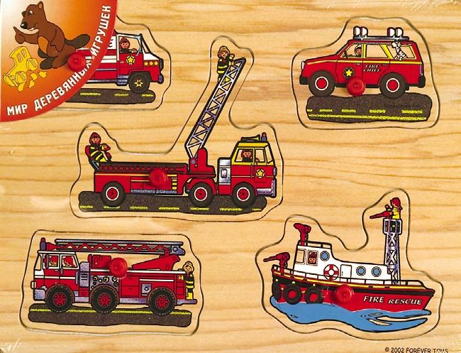 Спасательный транспорт - Развивает: Логику, Воображение, память.