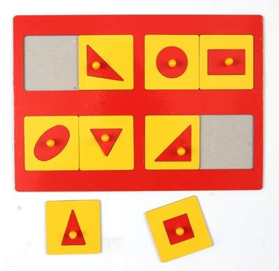 Рамка-вкладыш Монтессори (1 ур. сложности) - Рамки и вкладыши Монтессори развивают детей в нескольких направлениях.