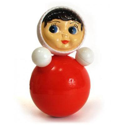 Неваляшка Ксюша в коробке (21,8 см) - Неваляшка – это традиционная игрушка для малышей, научившихся сидеть.