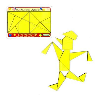 Головоломка Архимеда - Детская развивающая игра