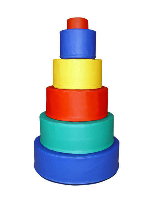 Мягкие игровые модули - Пирамида - ТОВАР ПОД ЗАКАЗ! СВЯЖИТЕСЬ С НАШИМ МЕНЕДЖЕРОМ - (4212)242-042 8-914-159-20-42