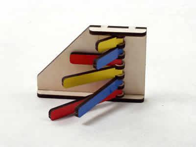 Счетные палочки (Игры О.Н.Тепляковой) - Детская развивающая игра