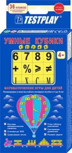 TESTPLAY. Умные кубики 1,2,3,4,5 -