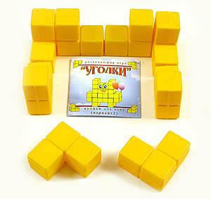 Кубики для всех №1 - Уголки - Самое простое соединение кубиков в играх №1