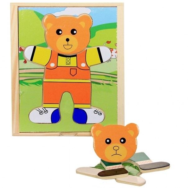 Медвежонок Миша - Рамка для медвежонка, который состоит из трех частей.