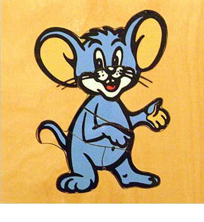 Пазл Мышка дерево ЛЭМ - Деревянный пазл «Мышка» предназначен для самых маленьких. Картинка состоит из пяти крупных деревянных элементов. Пазл разрезан очень продуманно – каждая часть соответствует определенной части тела и может быть названа сначала родителем, а потом и ребен