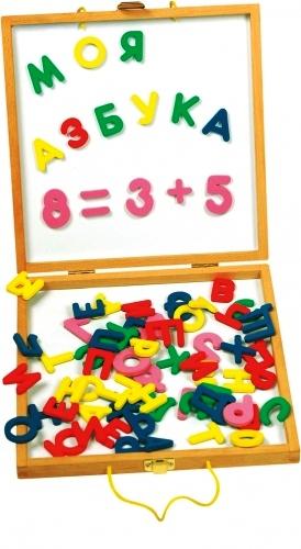 Набор Школьник (МДИ) - Эта игра поможет ребенку познакомиться с буквами и цифрами.