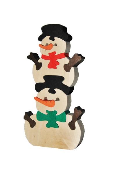 Снеговики в коробке. TreeTone. - 9,5х16,5х2