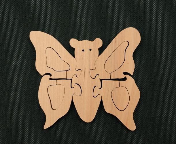 Бабочка (для раскрашивания) TreeTone. - 12,5х12,5х2
