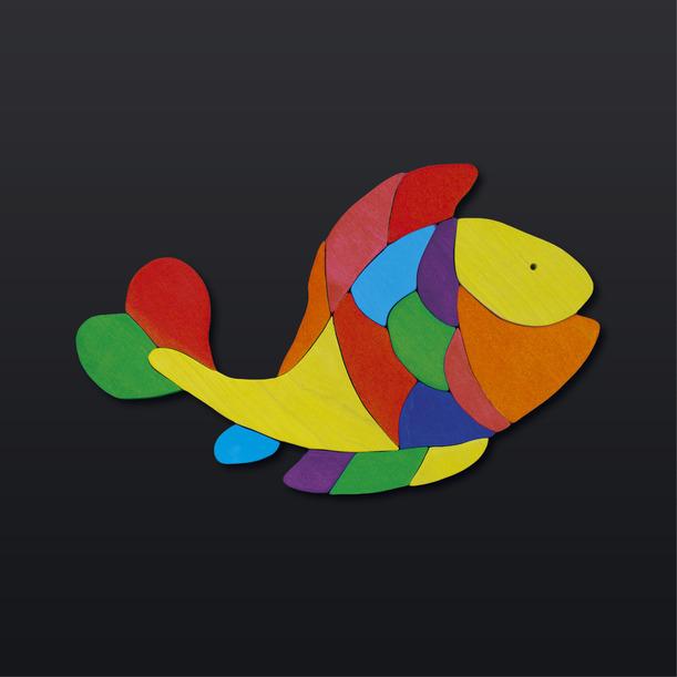 Рыбка магнитная TreeTone. - размер магнитной доски 30*30 см