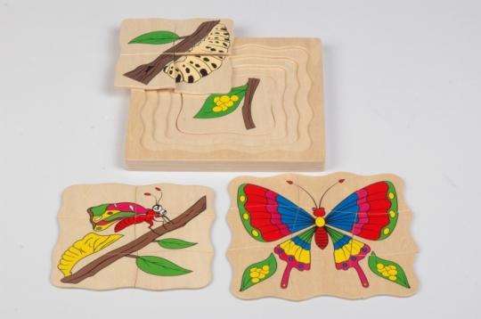 Бабочка  (МДИ) - Размеры:18×18