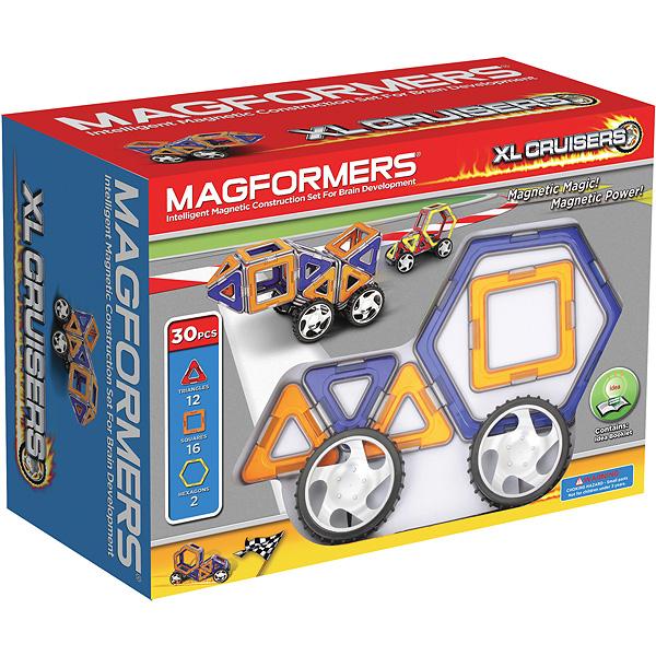Магнитный конструктор MAGFORMERS 706001 Xl cruisers машины -