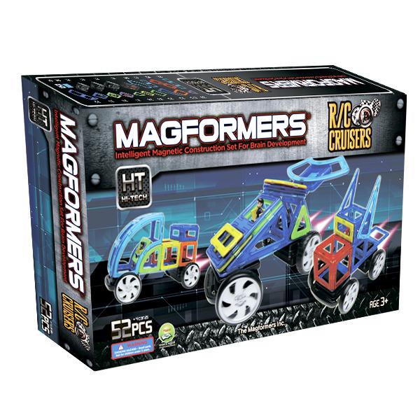 Магнитный конструктор MAGFORMERS 63091 R/C custom set - В комплект входит 52 детали.