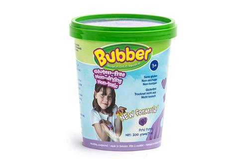 Масса для лепки WABA FUN 140-010 Bubber 200 гр. (белый) - Особенности: Не содержит глютен, казеин и пшеницу. Не токсичен, гипоаллергенен. Соответствует требованиям Европейских стандартов.