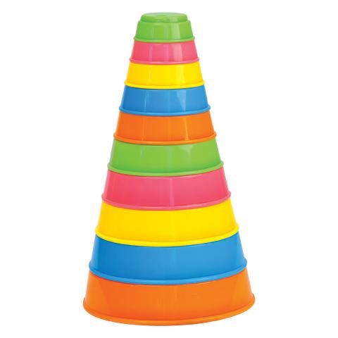 Занимательная пирамидка (10 элем.) арт.35042 -