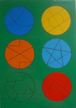 Сложи круг №4 - автор Наталия Семенова. Развивающая игра