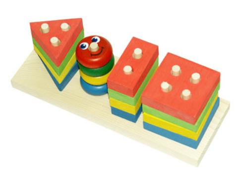 Краснокамск. Геометрик арт.НСК01 - Деревянная пирамидка порадует вашего малыша. Это развивающая игрушка. Собирание яркой пирамидки развивает координацию движений, логическое мышление, цветовосприятие, моторику, знакомит ребёнка с окружающим миром.