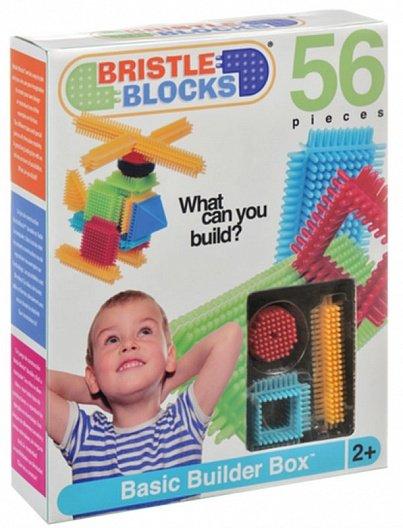 Конструктор игольчатый в коробке, 56 дет - Количество деталей: 56 Материал: высококачественный пластик Размер упаковки: 23,5х29х7 см