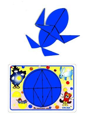 Головоломка Волшебный круг  (Оксва) -