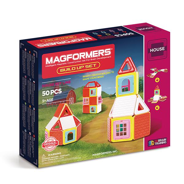 Магнитный конструктор MAGFORMERS 705003 Build Up Set