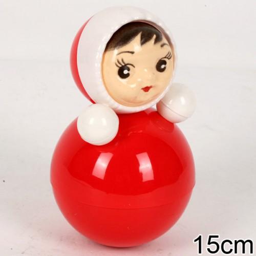 Неваляшка 6С-001 Маленькая 15 см - Неваляшка – это традиционная игрушка для малышей, научившихся сидеть. Размер6 15 см