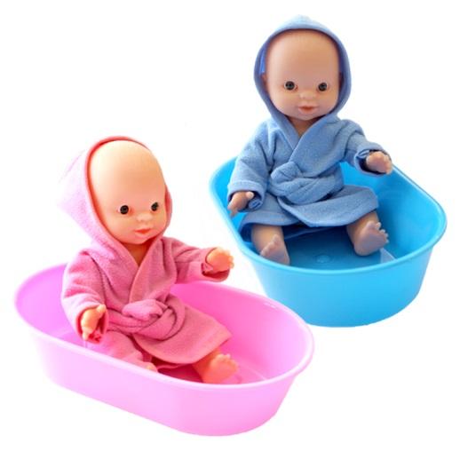 Плэйдорадо. Пупс в ванночке арт.22020 - У куклы подвижные ручки и ножки. Высота куклы - около 22 см.