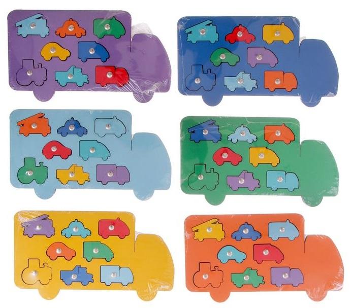 Игра с магнитами Машины - Увлекательная детская развивающая игра на ловкость - рыбалка