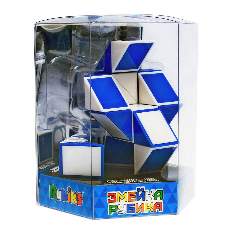 Головоломка РУБИКС КР5002 Змейка большая  24 элемента - Головоломка состоит из соединенных между собой 24 одинаковых треугольных призм, которые вместе образуют длинную цепочку.
