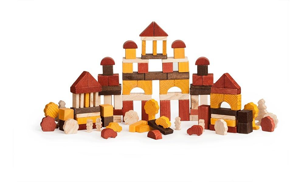 Конструктор КД День 105 дет - Конструктор - это строительный материал, необходимый для творческой игры ребенка. Комплект конструктора состоит из 105 ярких цветных деталей - простых геометрических фигур.