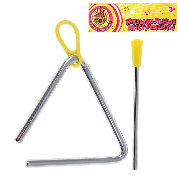Игрушка музыкальная Треугольник -