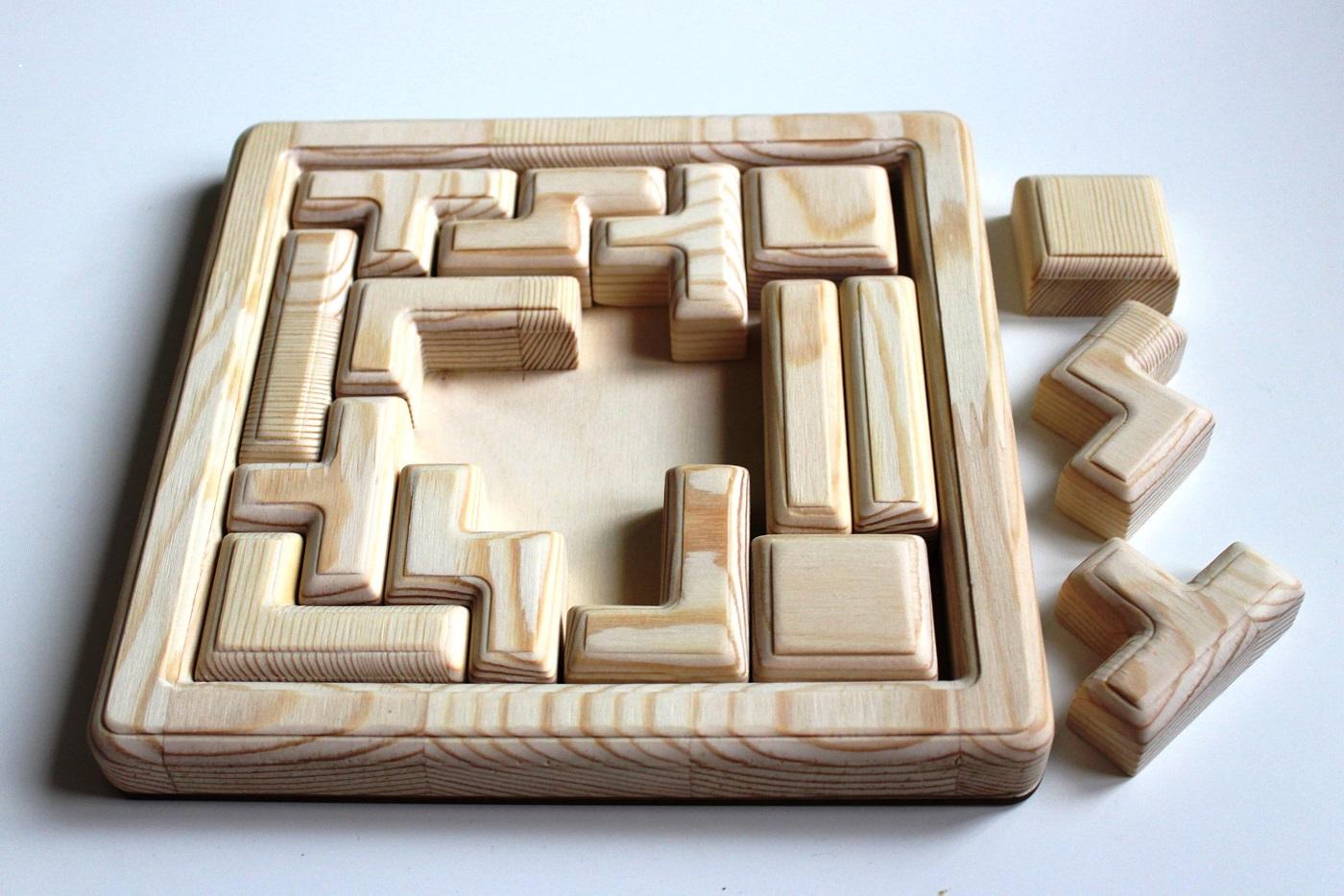 Тетрис-головоломка - Всеми любимая игра для развития внимания, мышления  и мелкой моторики.