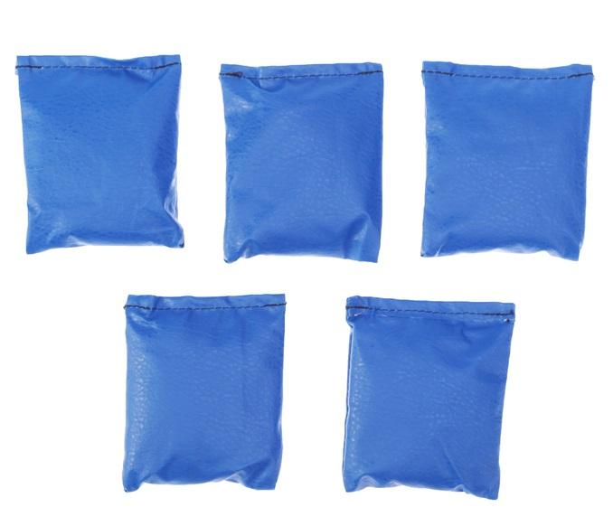 Мешочки для метания, цвета МИКС - Размер: 12 см × 1 см × 16 см Состав: Искусственная кожа