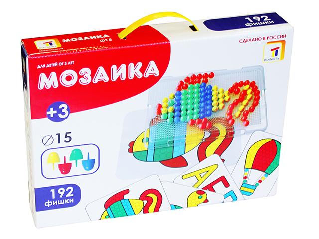 Пластмастер. Мозаика с картинками диам. 15 мм. арт.15005 -