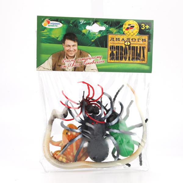Играем вместе. Набор из 6-и насекомых в асс-те. арт.HB9862 -