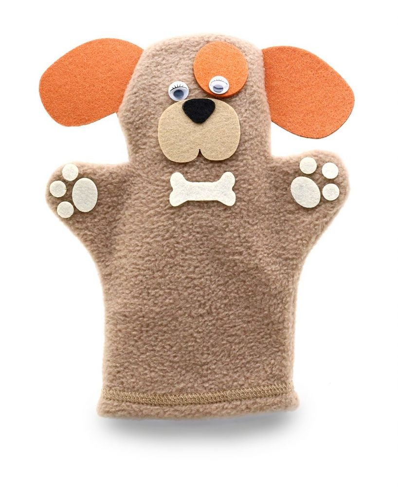 Кукла на руку Собачка - Размер: 25 см*19 см