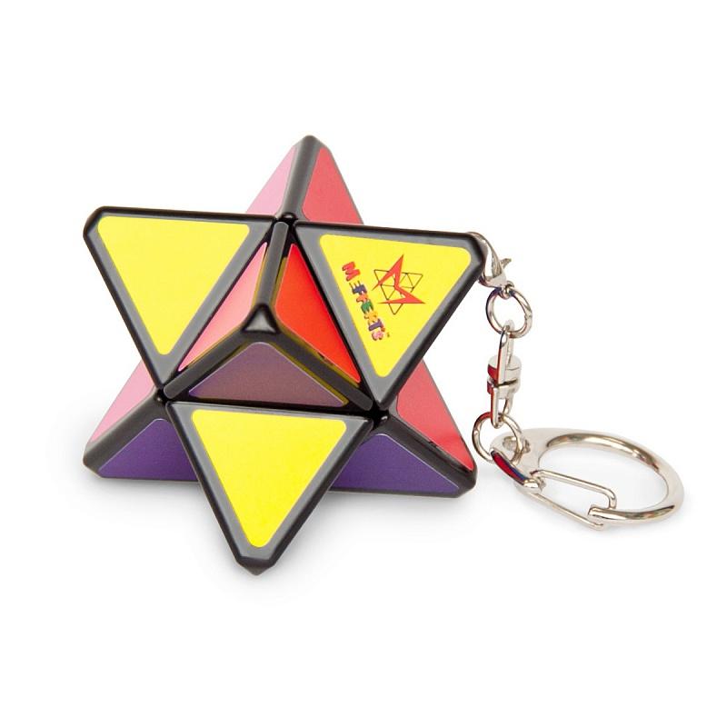 Головоломка MEFFERT'S ММ5046 Мини-Звезда Хаоса - Кажется, что головоломка состоит из соединения 2 треугольных пирамид, образуя 8-угольную звезду. Отсюда и оригинальное название PyraStar (Пирамида + Звезда).