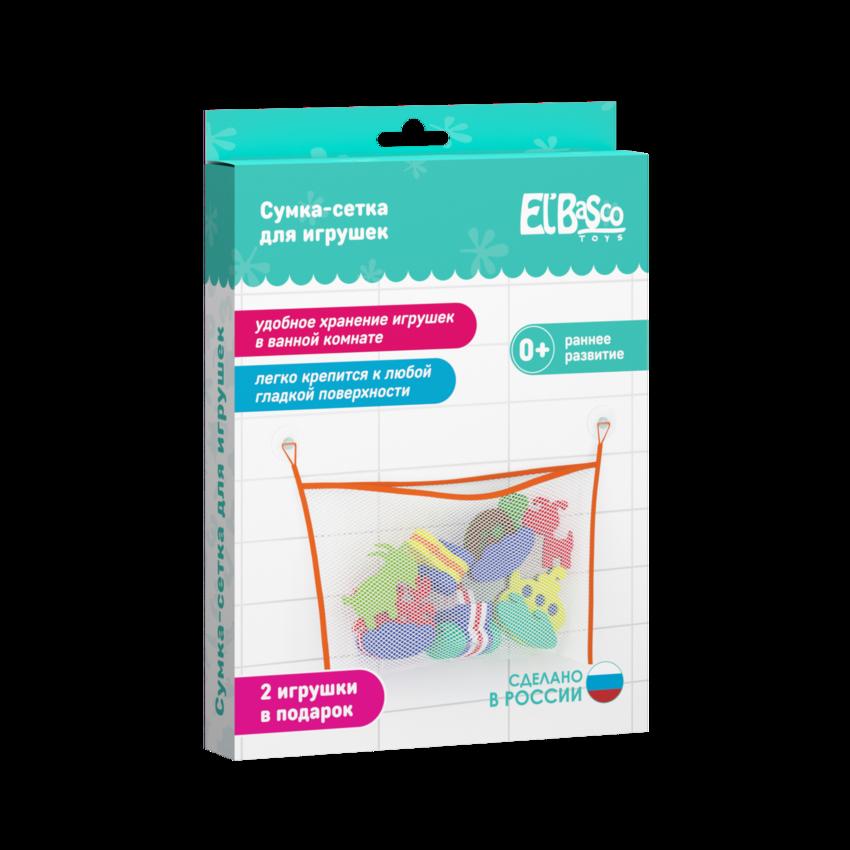 Сумка-мешок для игрушек арт.02-004 - размер упаковки: 160x270x20 мм материал: ЭВА